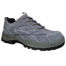 Chaussures de sécurité Sport Style Suede gris (S05001)