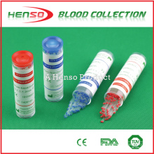 Heparina de tubo capilar HENSO
