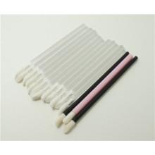 Applicateur à lèvres jetable à brosse à lèvres en laine plastique