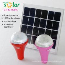 luces interiores solares con control remoto, fuego retardent pintura, luces de disco solar con control(JR-SL988A) remoto
