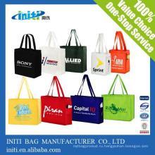 Китай пользовательских дешевые качества многоразовые сумки тренажерный зал