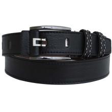 Man's classical black fashion PU belt