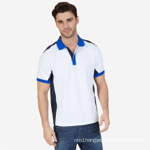White Classic Fit Heritage Color Block Polo Shirt