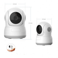 Wireless Indoor HD P/T IP Camera Baby Monitor