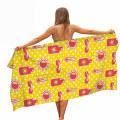 Personal Custom High Quality Absorbent Quick Drying Non Stick Sand Microfiber OEM Custom Digital Print Logo Beach Towels