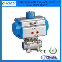 pneumatic air actuated high pressure Ball valve actuator DN125 KLOD brand