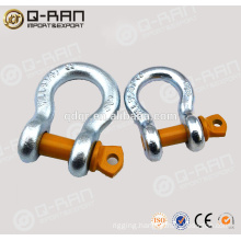 Forged Bow Shackle/Rigging Hardware Safety Drop Forged Bow Shackle