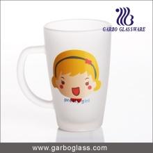 Decal Glass Mug/Cup, Printed Glass Mug/Cup, Imprint Glass Mug (GB094212-DR-114)
