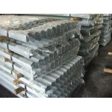 prix de feuilles de toiture métallique en acier par feuille