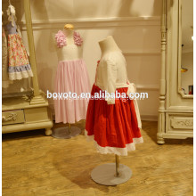 red colour Girl summer embroideried dress