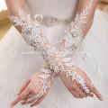 G-001 guantes largos de la boda para la novia