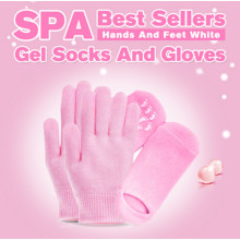Foot Care Hands Care Beauty Skin Moisturizing Gel Fingers SPA Gel Gloves with Different Colors, Hand Mask, Foot Mask