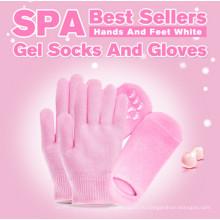 Увлажняющий гель носки, Спа-гель носки перчатки гель