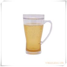 Taza escarchada de la pared doble Taza de cerveza congelada del hielo para los regalos promocionales (HA09070-3)
