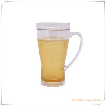 Tasse givrée à double paroi Tasse à bière glacée glacée pour cadeaux promotionnels (HA09070-3)
