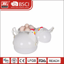 Promotion newest plastic microwave egg cooker