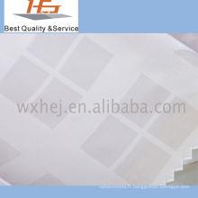 Tissu 100% coton Dobby de haute qualité en satin