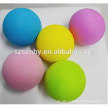 Écoliers balles de jouet boules de mousse colorées balle de styromousse jaune
