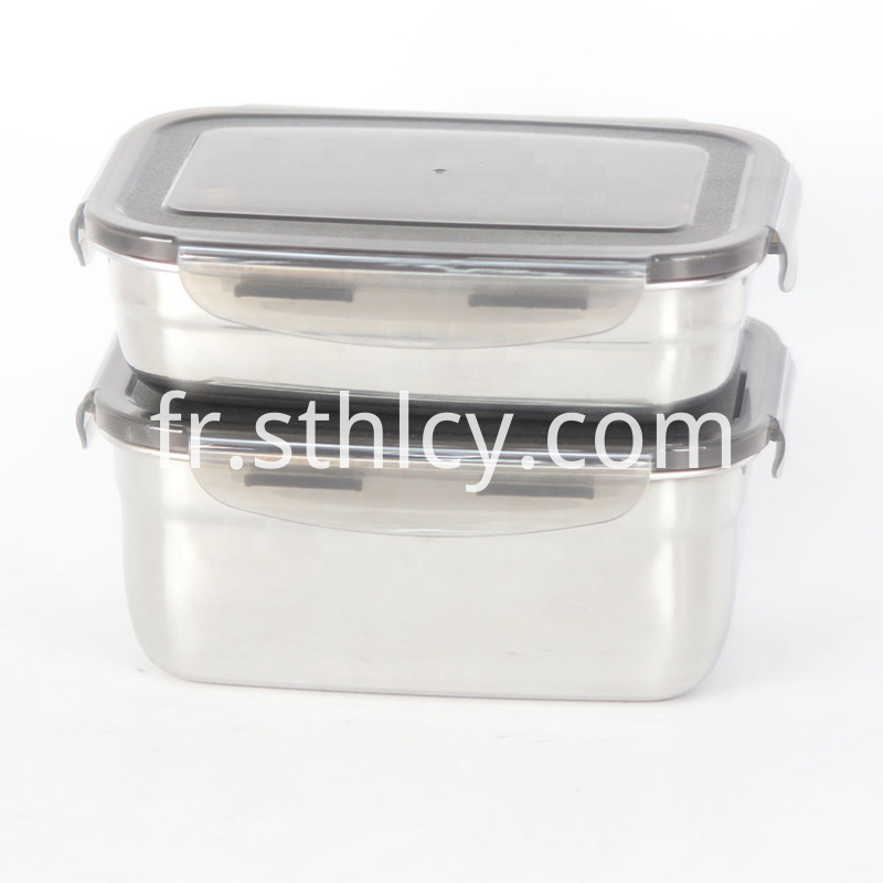 Air Tight Stainless Steel Lunch Box
