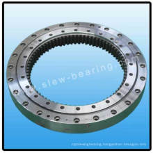 Double Row Ball Slewing Bearing Ring (Internal gear)