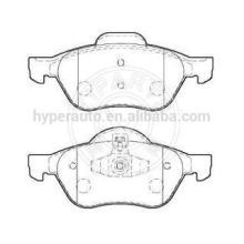 7701209100 brake pads for Renault Megane 2 front