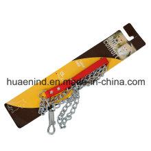 Железный цепной поводок для собак, продукт для домашних животных