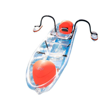 4-Personen-Ruderbootrennen Kid Transparent Bottom Kayak