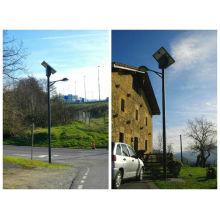 2014 haute qualité énergie solaire énergie poteau de réverbère, lampadaire solaire