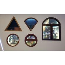 Thermische Trennung-Aluminiumprofile für Fenster Seite aufgehängt