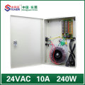 16-kanaals output boxed voeding 24 VAC