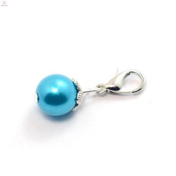Многоцветный хрустальный шар поддельный жемчуг плавающей медальон болтаться прелести, мотаться подвески для браслет