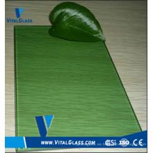 F-Green Float Glass para el vidrio del edificio con CE & ISO9001