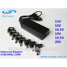 65W universal adaptador de corriente ca / dc