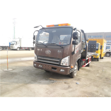 Euro 4 Manual 4*2 Wrecker Truck