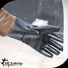 SRSAFETY Безопасность более длинных ПВХ химических перчаток