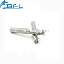 BFL Carbide 3 Flöte Schaftfräser für Aluminium, Schaftfräser für Aluminium