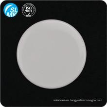 round glazed 95 alumina ceramic plate on tombstone