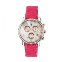 Watch chronograph girl keluli tahan karat