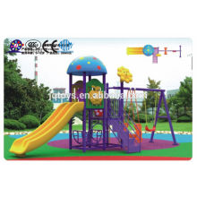 A0801 Kids Outdoor Plastic Amusement Playground Equipment