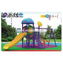 A0801 Дети Открытый Пластиковые развлечений игровая площадка оборудование