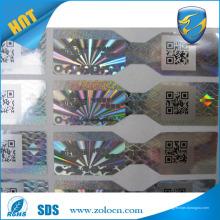 Preço de fábrica do ZOLO e etiqueta de holograma de venda quente, etiquetas de etiqueta holográficas