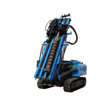 Hydraulic construction auger drilling piles rig pile driving machine screw pile driver