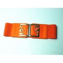 Les dernières ceintures élastiques PU de mode féminine