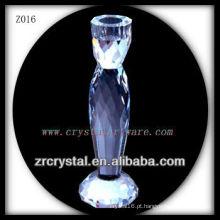 Suporte de vela de cristal popular Z016