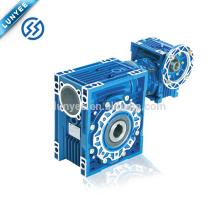 NMRV manual worm gearbox eletric motor gear reducer