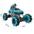 2 in 1Multifunction RC Car 4x4 High Speed Drifting Stunt Bubble Car for kids
