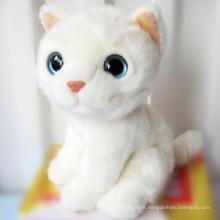 ICTI Audited Factory big eye plush cat toy