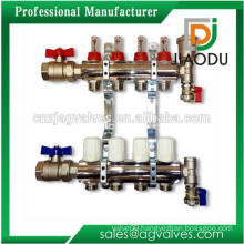 Super quality classical brass forge manifold for floor heating