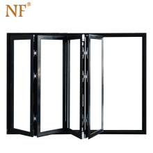 China high euro standard accordion folding glass basement windows