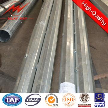 Poste de acero multi lateral 15kn con brazo cruzado